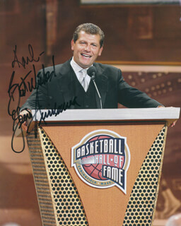 Autographs: GENO AURIEMMA - INSCRIBED PHOTOGRAPH SIGNED