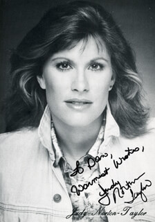 JUDY NORTON-TAYLOR - AUTOGRAPHED INSCRIBED PHOTOGRAPH