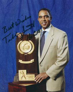 TUBBY SMITH - AUTOGRAPHED SIGNED PHOTOGRAPH