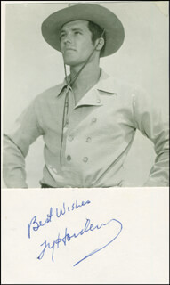 TY HARDIN - AUTOGRAPH SENTIMENT SIGNED