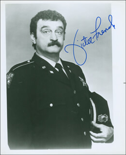 VICTOR FRENCH - AUTOGRAPHED SIGNED PHOTOGRAPH