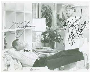 THE WHEELER DEALERS MOVIE CAST - AUTOGRAPHED SIGNED PHOTOGRAPH CO-SIGNED BY: LEE REMICK, JAMES GARNER