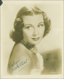 GLADYS SWARTHOUT - AUTOGRAPHED SIGNED PHOTOGRAPH