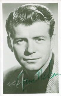 GENE NELSON - AUTOGRAPHED SIGNED PHOTOGRAPH