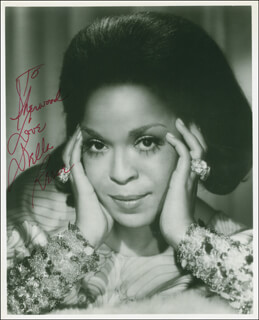 DELLA REESE - AUTOGRAPHED INSCRIBED PHOTOGRAPH