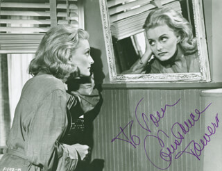 CONSTANCE TOWERS - AUTOGRAPHED INSCRIBED PHOTOGRAPH