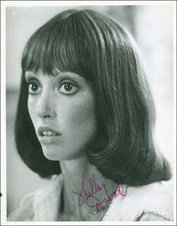 SHELLEY DUVALL - AUTOGRAPHED SIGNED PHOTOGRAPH