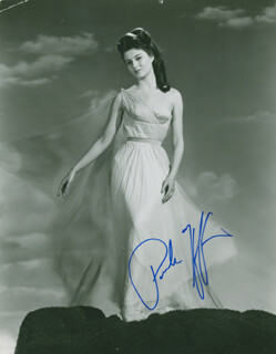 PAMELA TIFFIN - AUTOGRAPHED SIGNED PHOTOGRAPH