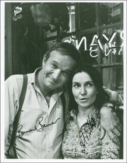 RYAN'S HOPE TV CAST - AUTOGRAPHED SIGNED PHOTOGRAPH CO-SIGNED BY: BERNARD BARROW, HELEN GALLAGHER
