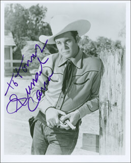 SUNSET CARSON - AUTOGRAPHED INSCRIBED PHOTOGRAPH