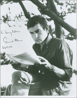 Autographs: EDWARD ALBEE - INSCRIBED PHOTOGRAPH SIGNED 08/1967