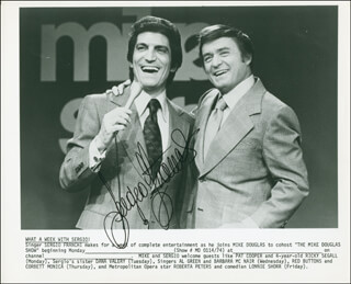 SERGIO FRANCHI - AUTOGRAPHED SIGNED PHOTOGRAPH