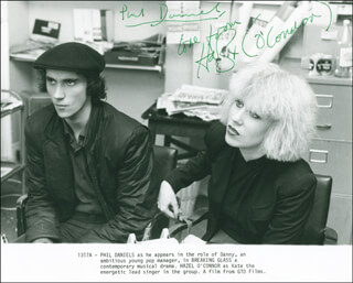 BREAKING GLASS MOVIE CAST - AUTOGRAPHED SIGNED PHOTOGRAPH CO-SIGNED BY: HAZEL O'CONNOR, PHIL DANIELS