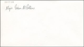 COLONEL EILEEN M. COLLINS - ENVELOPE SIGNED