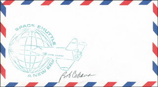 Autographs: COLONEL ROBERT CABANA - ENVELOPE SIGNED