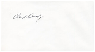 CAPTAIN CHARLES E. BRADY JR. - ENVELOPE SIGNED