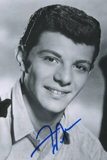 FRANKIE AVALON - AUTOGRAPHED SIGNED PHOTOGRAPH  - HFSID 294410