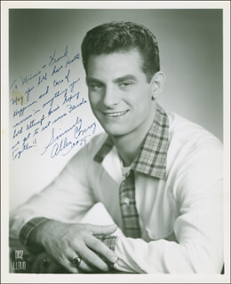 ALLEN CONROY - AUTOGRAPHED INSCRIBED PHOTOGRAPH 1954