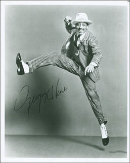 GREGORY HINES - AUTOGRAPHED SIGNED PHOTOGRAPH