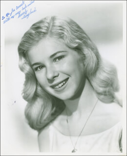 BEVERLY LUNSFORD - AUTOGRAPHED INSCRIBED PHOTOGRAPH
