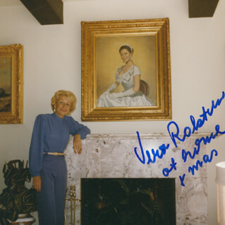 VERA H. RALSTON - AUTOGRAPHED SIGNED PHOTOGRAPH