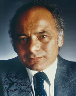 BURT YOUNG - AUTOGRAPHED INSCRIBED PHOTOGRAPH