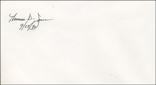 THOMAS D. JONES - ENVELOPE SIGNED 09/27/1990