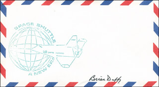 COLONEL BRIAN DUFFY - ENVELOPE SIGNED