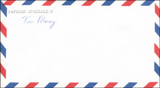 KEN MONEY - ENVELOPE SIGNED