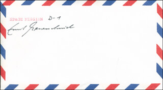 ERNST MESSERSCHMID - ENVELOPE SIGNED