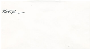 CAPTAIN KENT V. ROMINGER - ENVELOPE SIGNED