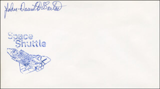 Autographs: JOHN-DAVID F. BARTOE - ENVELOPE SIGNED