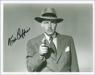 TRIS COFFIN - AUTOGRAPHED SIGNED PHOTOGRAPH