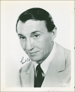 PAUL FIX - AUTOGRAPHED SIGNED PHOTOGRAPH
