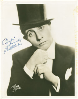 BERT WHEELER - AUTOGRAPHED INSCRIBED PHOTOGRAPH