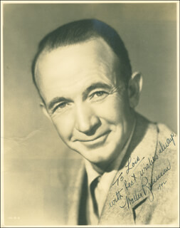 WALTER BRENNAN - AUTOGRAPHED INSCRIBED PHOTOGRAPH 1942