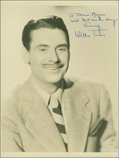WILBUR EVANS - AUTOGRAPHED INSCRIBED PHOTOGRAPH