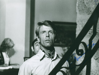 EDWARD FOX - AUTOGRAPHED SIGNED PHOTOGRAPH