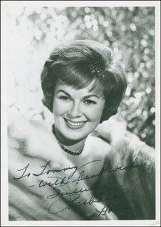 BARBARA HALE - AUTOGRAPHED INSCRIBED PHOTOGRAPH