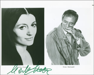 CARLA FRACCI - AUTOGRAPHED SIGNED PHOTOGRAPH