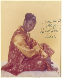 PEARL BAILEY - AUTOGRAPHED INSCRIBED PHOTOGRAPH  - HFSID 294640