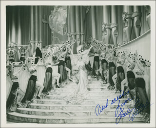 GRETA GYNT - AUTOGRAPHED SIGNED PHOTOGRAPH