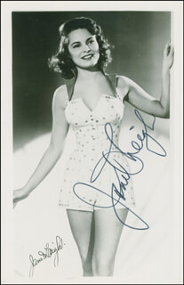 JANET LEIGH - AUTOGRAPHED SIGNED PHOTOGRAPH
