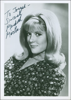MEREDITH MACRAE - AUTOGRAPHED INSCRIBED PHOTOGRAPH