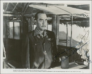 SESSUE HAYAKAWA - AUTOGRAPHED SIGNED PHOTOGRAPH
