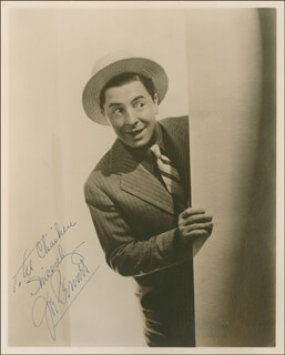 JOE PENNER - AUTOGRAPHED INSCRIBED PHOTOGRAPH