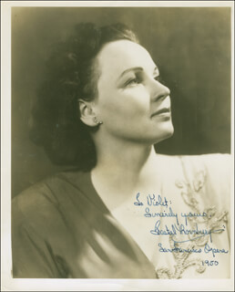 DESTAL THORNBURY - AUTOGRAPHED INSCRIBED PHOTOGRAPH 1950