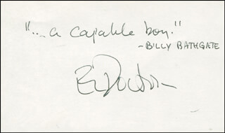 E. L. (EDGAR LAWRENCE) DOCTOROW - AUTOGRAPH QUOTATION SIGNED