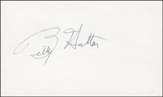 BETTY HUTTON - AUTOGRAPH