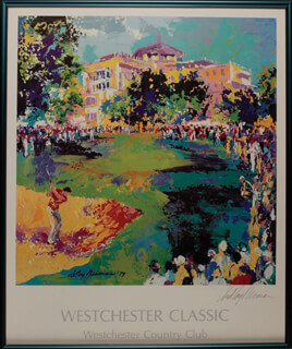 LEROY NEIMAN - AUTOGRAPHED SIGNED POSTER